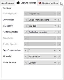 ColorRiver - Camera Remote Control for Canon EOS